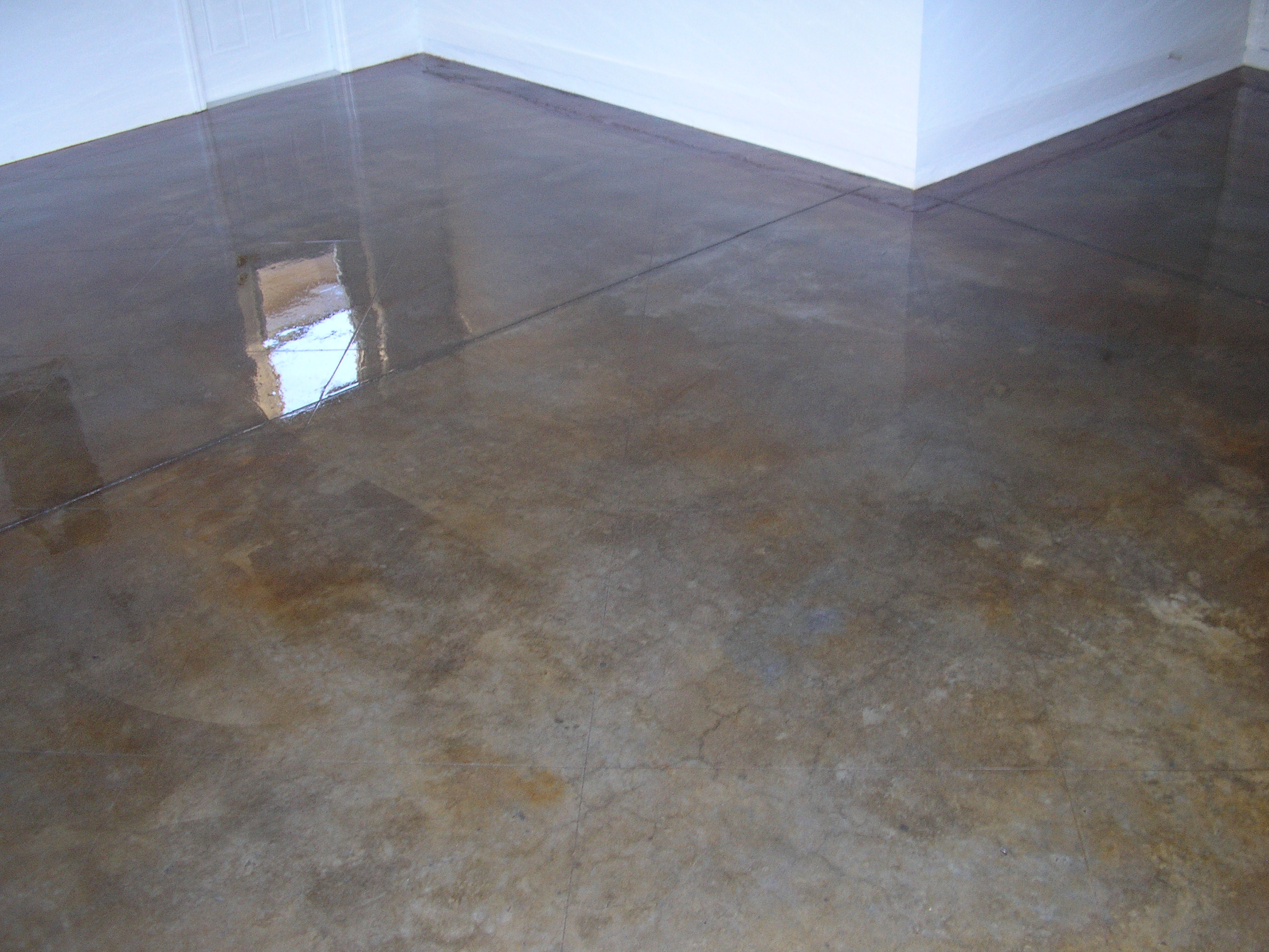 Stained Concrete Floors In Homes : Charlie s